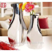 2016 New 304 Stainless Steel Art Modern Flower Vase Home Decoration Potiche