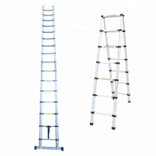 5m A type telescopic ladders aluminium with EN131
