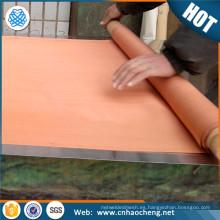 Malla 100% de malla Mesh 0.224mm que abre la tela de bloqueo rfid de malla de alambre tejida fina