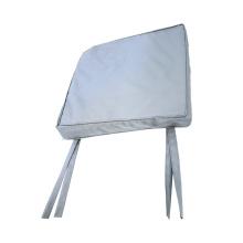 Capa dobrável de cetim para cadeira Capa dobrável de poliéster para cadeira