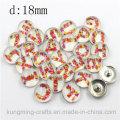 Boucles d'oreilles décoratives de style Antique 18mm
