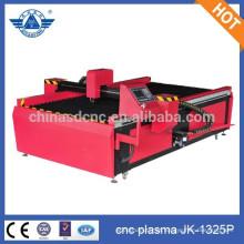 Máquina de corte JK - 1325P cnc plasma para aço carbono, ferro ect