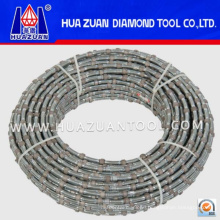 Spring Coated Way Diamond Wire Saw Machine for Marble Cutting