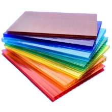 Hot selling colored special house roof cover materials UV resistance lexan solar roof polycarbonate cover panels