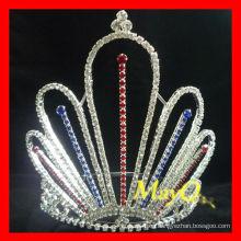 Corona al por mayor del desfile de la princesa patriótica