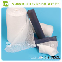 CE FDA ISO genehmigt medizinische 100% Baumwolle absorbierende Gaze Rolle
