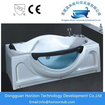 Relaxing corner whirlpool bathtubs