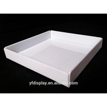 Customized White Acrylic Serving Tray