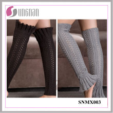 2015 Europa Bud-Shaped Warmers Warm Knitting Wool Sleeves Calcetines