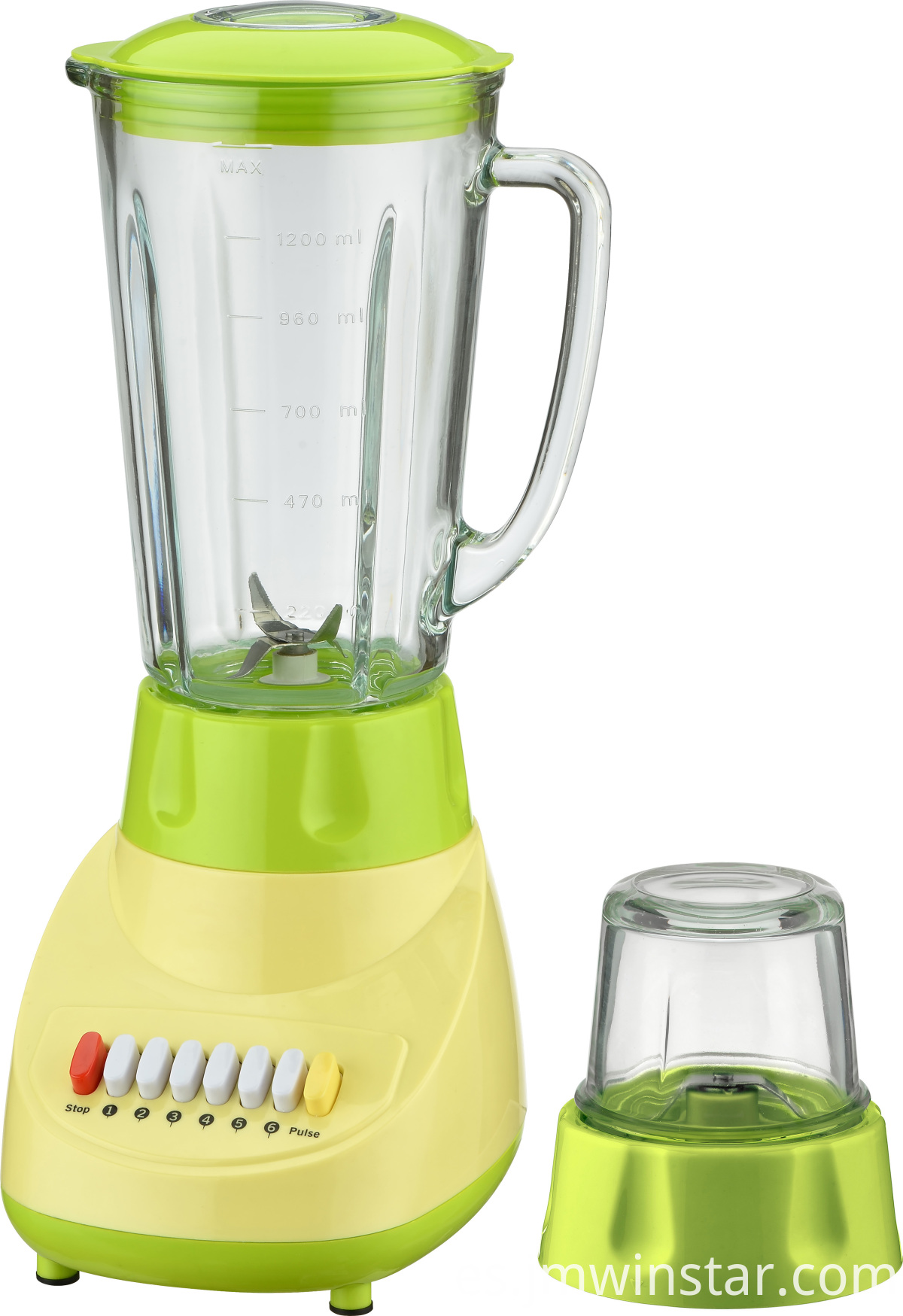 Green Blender With Mill