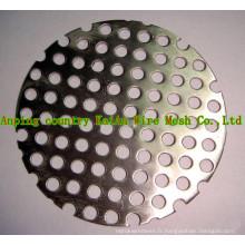 Maillot en titane perforé / maillage tissé en titane / maillage en titane expansé / maillage en titane pour batterie / filtre chimique / filtre
