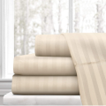 Kapas 1cm Stripe Bed Sheet 300TC