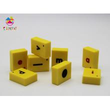 Plastic Magnetic English Letter Tiles