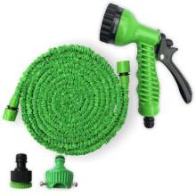 OEM Rubber Expandable Flexible Garden Water Hose with Adjustable Spray Gun