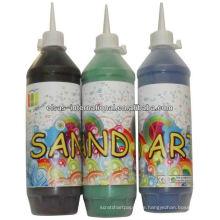 Sand Art Flasche Handwerk