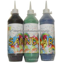 Arte de botella de arena de arte