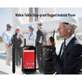 Walkie Talkie Drop-Beweis Rugged Android Phone