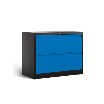 A melhor unidade de armário de arquivo para armazenamento lateral de 2 gavetas