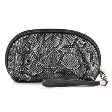 Bolsa feminina para lavagem cosmética Snake Vein PU (YKY7537)
