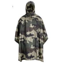 High Qualty Military CE Camo Waterproof Poncho