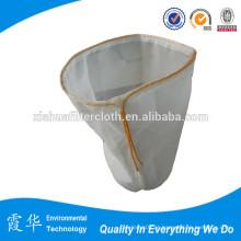 100 sacos de nylon do filtro do nylon da malha com anel plástico