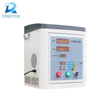 gas station fuel dispenser with flow meter