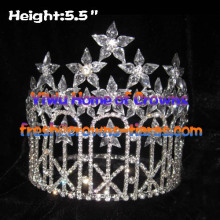 Diamant Princesse de cristal Pageant couronnes