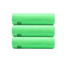Bateria de iões de lítio de alta draga 18650 3.7V 1500mAh 30A Corrente de descarga