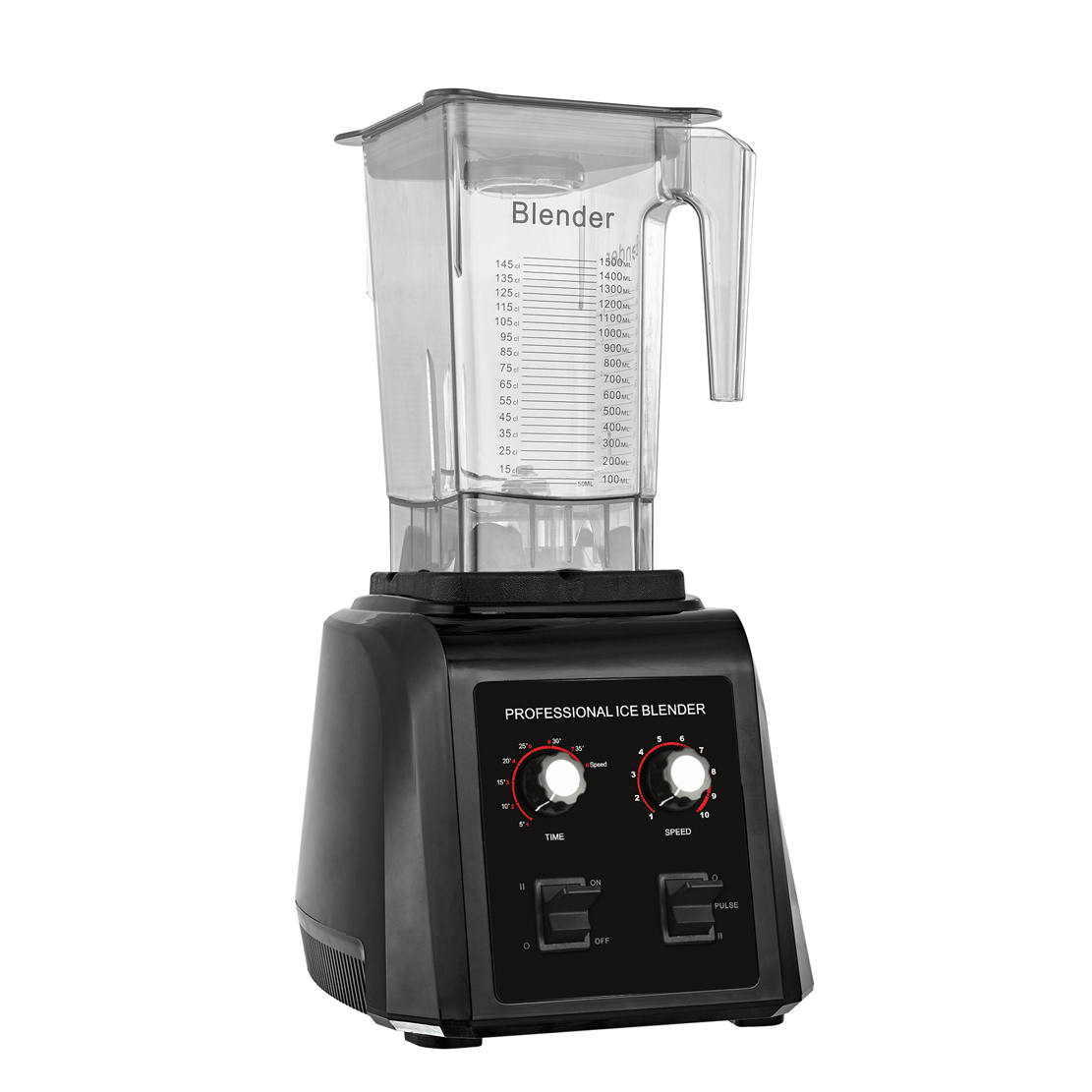 New Arrival Multi Purpose High Speed Commercial Ice Smoothie Maker Blender Industrial Food Processor Blender