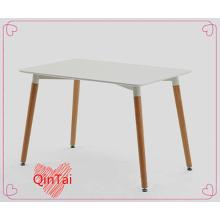 rechteckiger tisch von QinTai MDF tischsitz buche holz beine