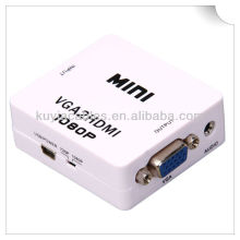 Mini VGA to 2 HDMI Converter Box