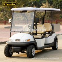 En gros A1S4 chariots de golf électriques à bas prix chariot de golf électrique buggy golf avec Cargo