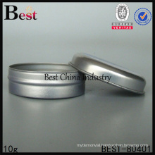 10g stainless steel jar for cosmetic