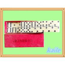 Heißer Verkauf Double 6 Domino-Pack in Pappschachtel