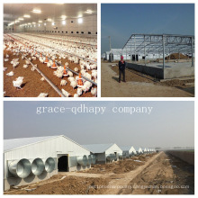 Prefab Poultry Farm House with All Poultry Equipment