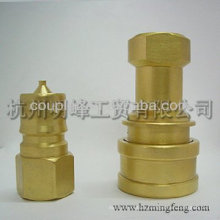 High Pressure All fluid quick-release coupling