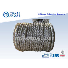 8 Strand 80mm 220m Length Nylon Mooring Rope