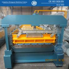 Машина для производства гофрированного рулона с металлическим листом