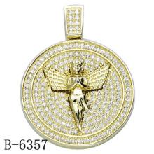 Dernière conception Bijoux Pendentif en argent sterling 925 avec diamant