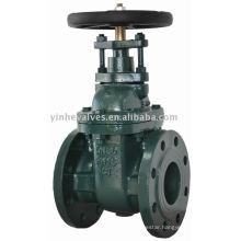 non-rising gate valve