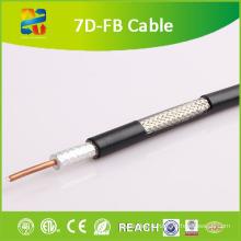 Câble coaxial 50 Ohm 7D-Fb (CE / RoHS / ETL)