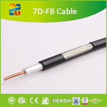 50 Ohm 7D-Fb Coaxial Cable (CE/RoHS/ETL)