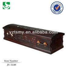 JS-A640 sofá lleno de álamo con la hermosa talla
