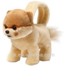 ICTI factory custom plush stuffed toy dog bag