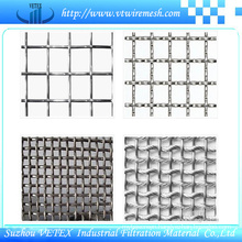 Crimped Wire Mesh Products Used as Fence or Filters