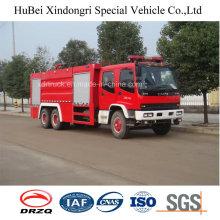 15ton Isuzu Водный и пенный бак Тип пожаротушения Двигатель грузовик Euro 4