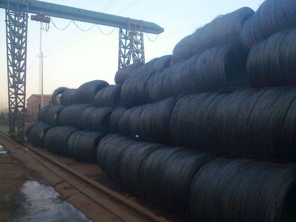 black steel wire