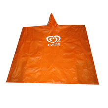 Promotion Plasic Adult LDPE Regen Ponchos,