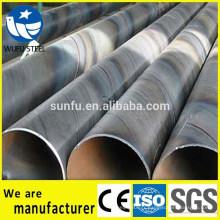 Tuyau en acier SSAW Q345 pour fluide huile et gaz avec PSL1, PSL2
