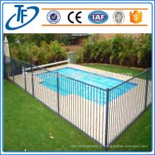 Clôture de sécurité pour piscine amovible